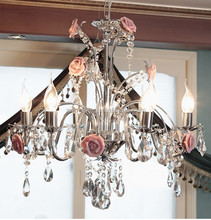 home decorative ceramics crystal chandelier and pendant light