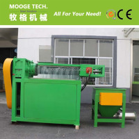 Plastic film squeeze screw press dryer/plastic squeezing machine