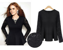 2012 OEM western new style fashion lace blouses