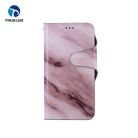 2017 New Hot Selling Marble Flip Wallet Phone Cover For iphone X Leather Case