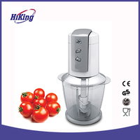 Mini double blade food fruit and vegetable food chopper
