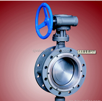 API Ductile Iron solenoid valve flange Butterfly Valve