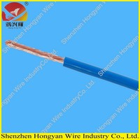 450/750v stranded copper core flexible electrical wire with pvc cover