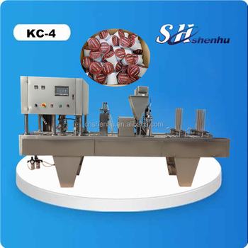 K cup coffee filling sealing machine coffee capsule filling machine