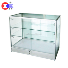 CX-A805 Yiwu Chixiang Perfect finish aluminium frame glass display cabinet