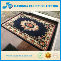 2015 Hot pattern high quality commercial floral wilton carpet