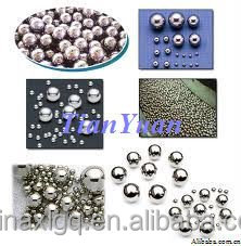 "AISI1010 Q235 1/4"" 6.35mm steel ball for bearing"