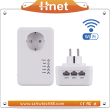 500Mbps Powerline Wifi Ethernet Adapter and 3-Port Hub Kit Adapter