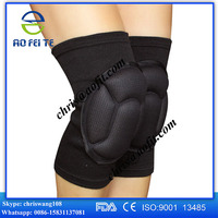 Cotton Stretching Knee Pads guard support pad pattern With Sponge