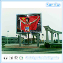 China manufactur 2014 new shenzhen hot sale alibaba outdoor full color led display video x outdoor p10,p16 panel