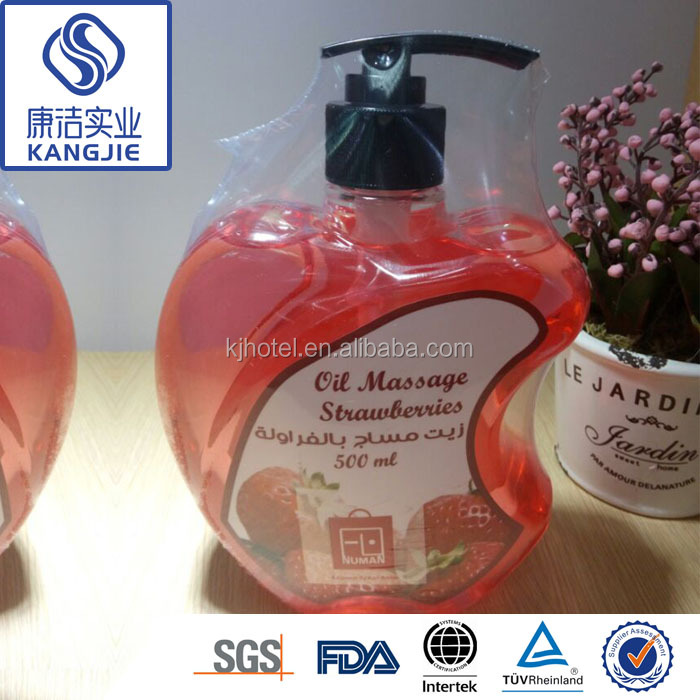 Private Label Natural Extracted Full Body Strawberry Massage Oil for Women with Good price