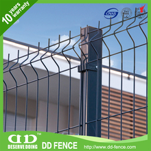 High quality galvanized wire welded mesh sectional fence