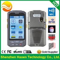 4.3 Inch Handheld Terminals IP65 Shockproof Waterproof Handset with 3G Phone 2D Barcode Android PDA RFID Rugged Mobile Devices