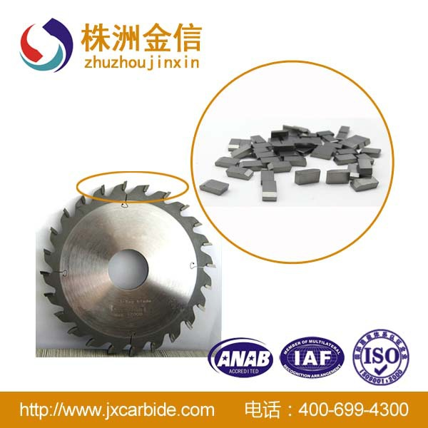 Cemented carbide planer blades, Tungsten carbide saw tips