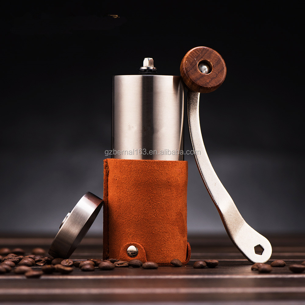 Manual Stainless steel Ceramic Burr Coffee Grinder, Coffee Mill ,coffee bean grinder
