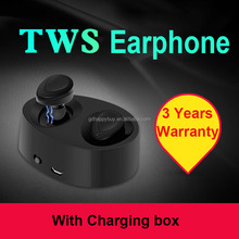 sport mini tws bluetooth earphones wireless earbuds with mic and volume control for iPhone 7 7plus