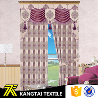 Suzhou Kangtai Textile high quality customer design live room curtain