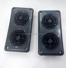 ABS plastic material double air vent wind outlet for bus