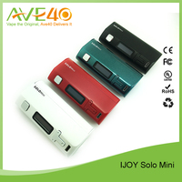Ijoy Solo mini taste control 75W box mod New technology vapor mods in the market