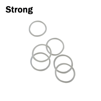 rubber made product manufacturer rubber seal Clear Silicone o-ring