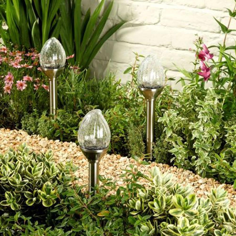 Al aire libre decoración solar para el jardín llevó la antorcha ...