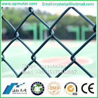 Cheap PVC Coated Chain Link Fencing panels design