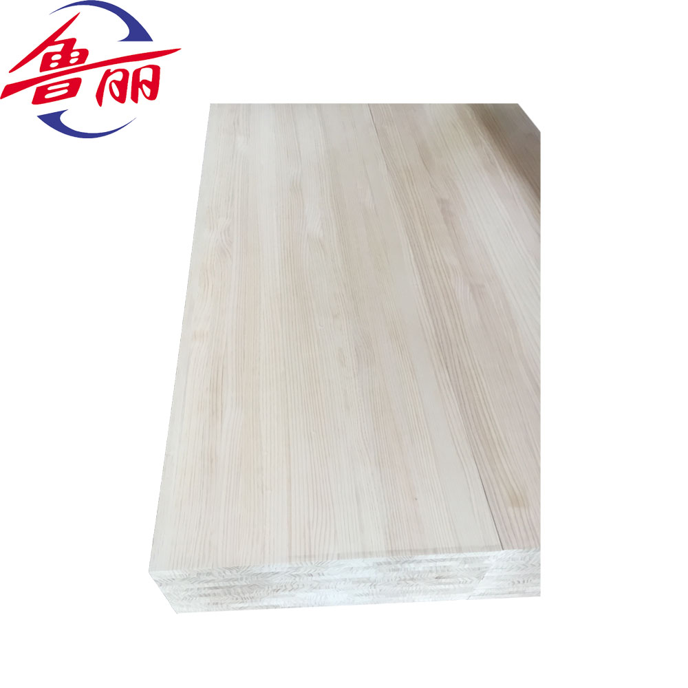 hot sale acacia pine finger joint laminated board from luli factory