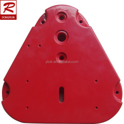 sand casting foundry supply oem Aluminum Hydrant cover with Powder coating