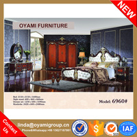 New classical expensive bedroom furniture