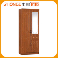Low Price High Quality Indian Style Wooden Bedroom Wardrobe