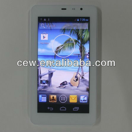 6.5inch MTK6572 Android 4.2.2 ultra slim 8.5mm tablet pc 2G 3G Mobile phone