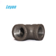 "1"" black iron tee adapter pipe fittings bsp male female pipe fittings 1"" black iron tee pipe fittings"