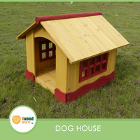Pet house Yellow Wooden Kennel