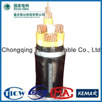Good Quality PVC/XLPE Material standard power cable sizes