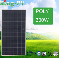 High efficiency high quality competitive price per watt poly 300W solar panel