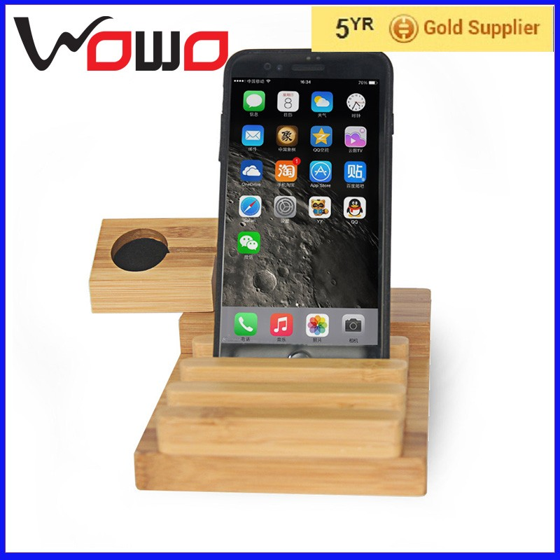 2017 fashion gift phone holder charging station charge bracket for smart phone watch stand