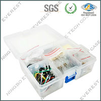 20 in 1!Basic electronic components mixed pack including Resistor\Ceramic Capacitor\Electrolytic capacitor\LED