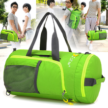 Wholesale Portable nylon travel bag large capacity receive bag folding luggage bag