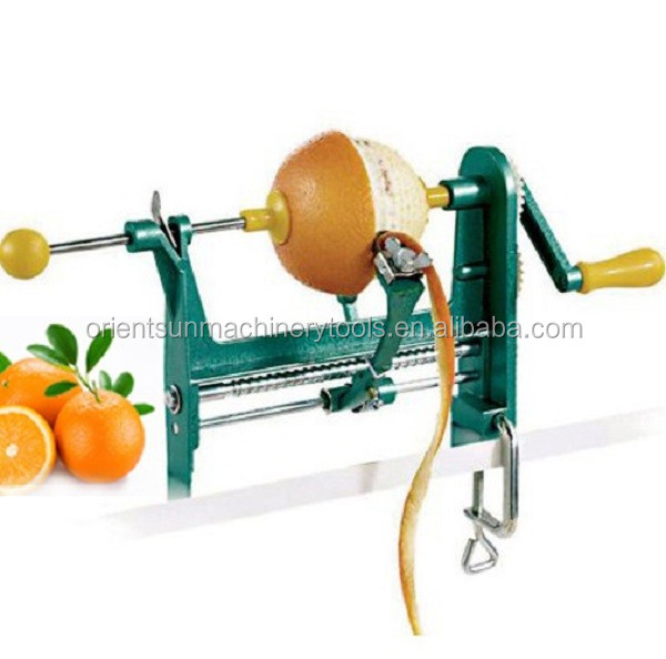 automatic orange peeler machine