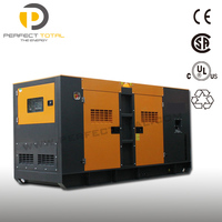100Kva soundproof diesel generator with Cummins engine