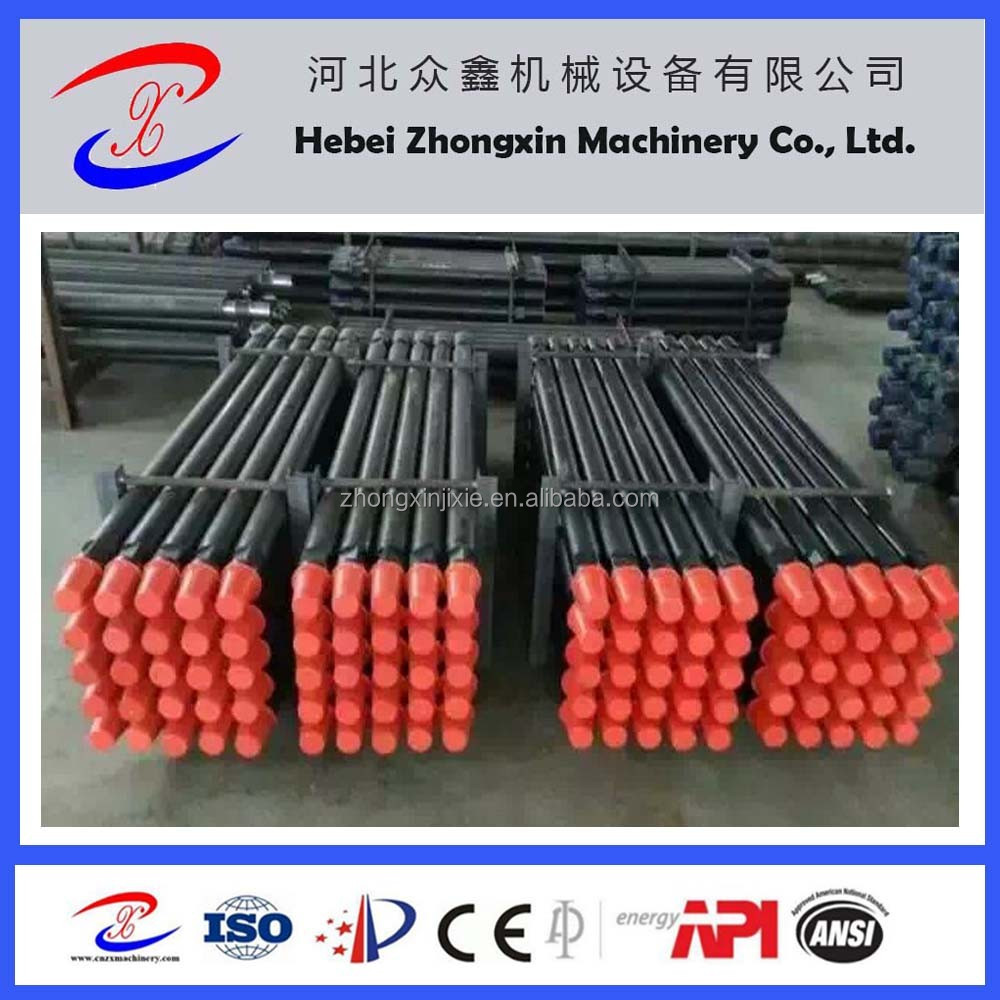 API water well Drill Pipe/drill rod 4inch for undergound water with high quality from china express alibaba