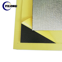 silver insulation foam flexible adhesive backed rubber sheet foil xpe/pe roll