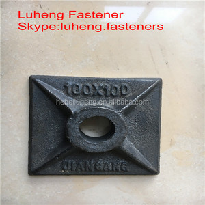 made in china construction concrete formwork of square gasket
