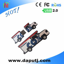 Wholesale usb flash memory truck shape 8 gb