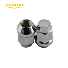14x1.50 Hex19mm L35mm car accessories wheels lug nuts/wheels lug nuts covers chrome stainless