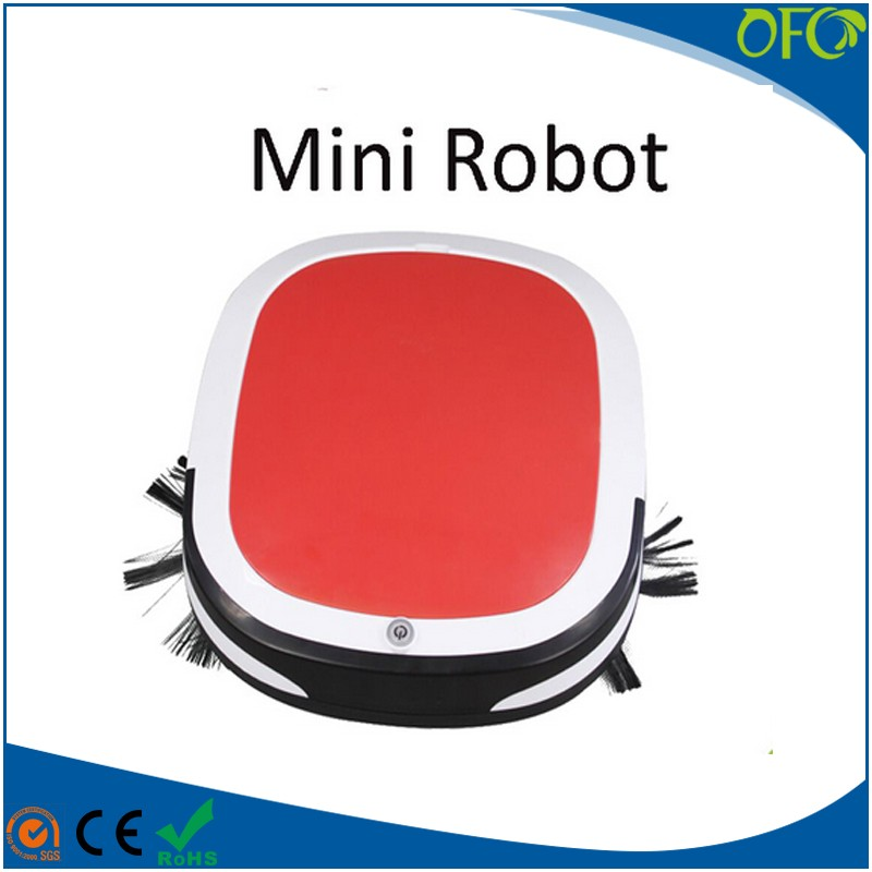 Good Mini automatic dry and wet vacuum cleaner robot for home