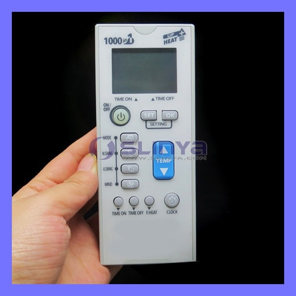 1000 In 1 Universal Air Conditioner Remote Control Codes