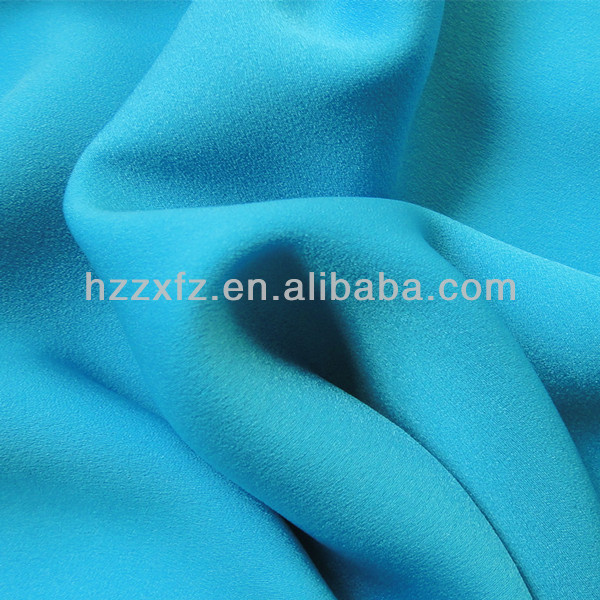 100% polyester Compound Satin Crepe de Chine, Chiffon