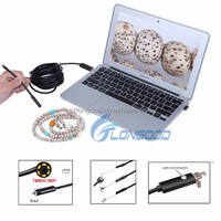 2 in one 7mm USB Endoscope USB Wire Camera IP66 Waterproof Inspection usb endoscope camera