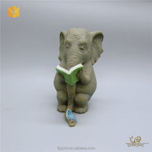 Facotry Supplier China Wholesale Antique Elephant Statue Bulk Elephant Figurine for Wedding Table Decor
